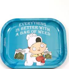 FAMILY GUY - BAG OF WEED ROLLING TRAY