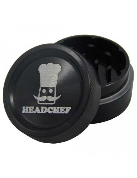 HEADCHEF GRINDER 30mm - 2 PIECE GRINDER