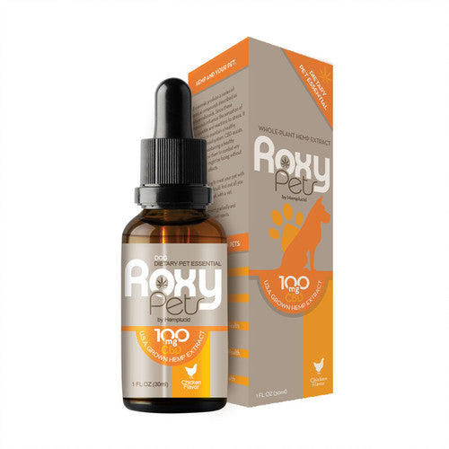 ROXY PETS - CHICKEN FLAVOUR 30ml CBD OIL FOR PETS