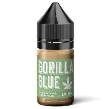 GREEN HOUSE TERPENES - GORILLA GLUE 300mg CBD E-LIQUID 30ml