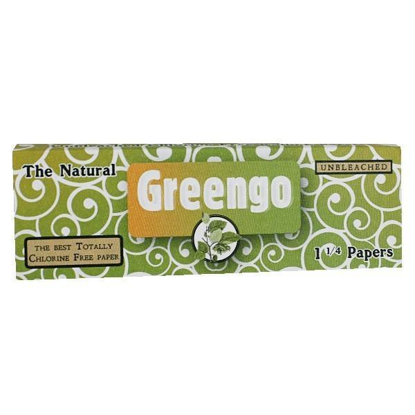 GREENGO 1 1/4 ROLLING PAPERS