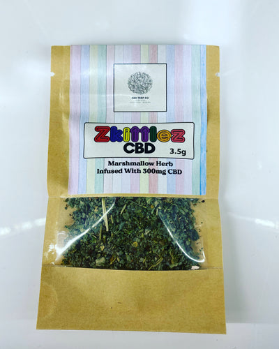 ZKITTLEZ 300mg CBD INFUSED MARSHMALLOW HERB 3.5g - CBD TERP CO