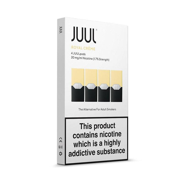 JUUL PODS - ROYAL CREME 18mg