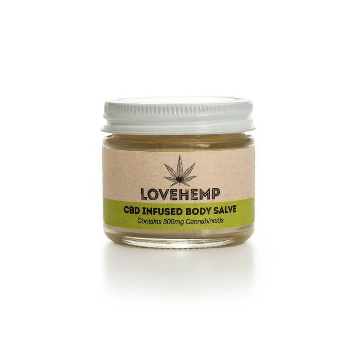 LOVE HEMP 300mg CBD BODY SALVE - 50ml POT