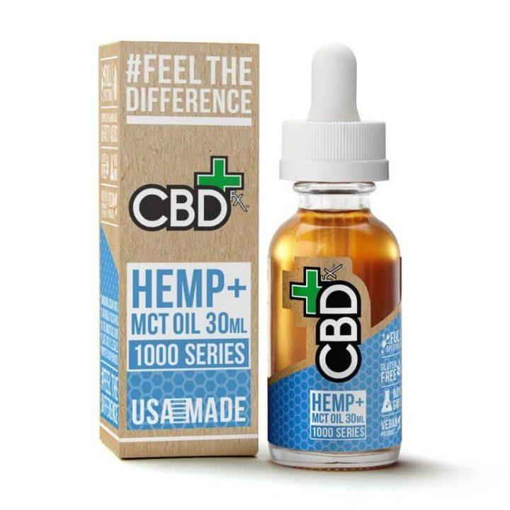 CBDFX - 1000mg VEGAN CBD OIL - 30ml BOTTLE