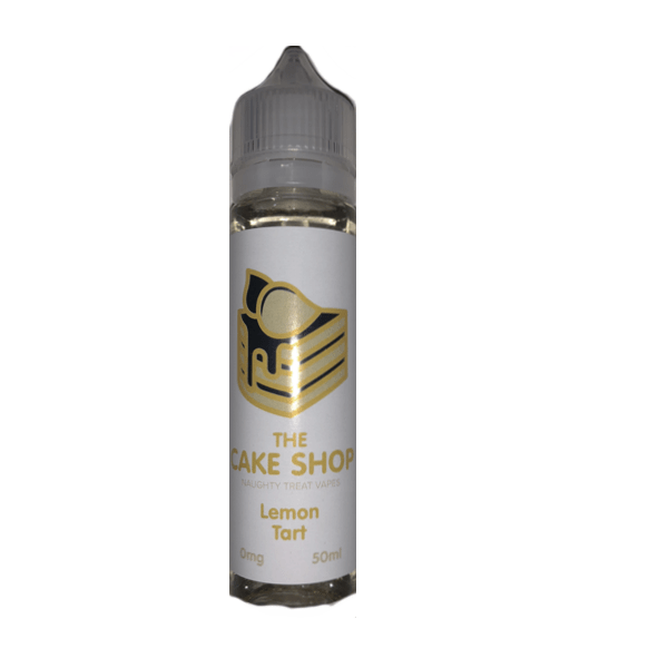 THE CAKE SHOP - LEMON TART 50ml SHORTFILL E-LIQUID