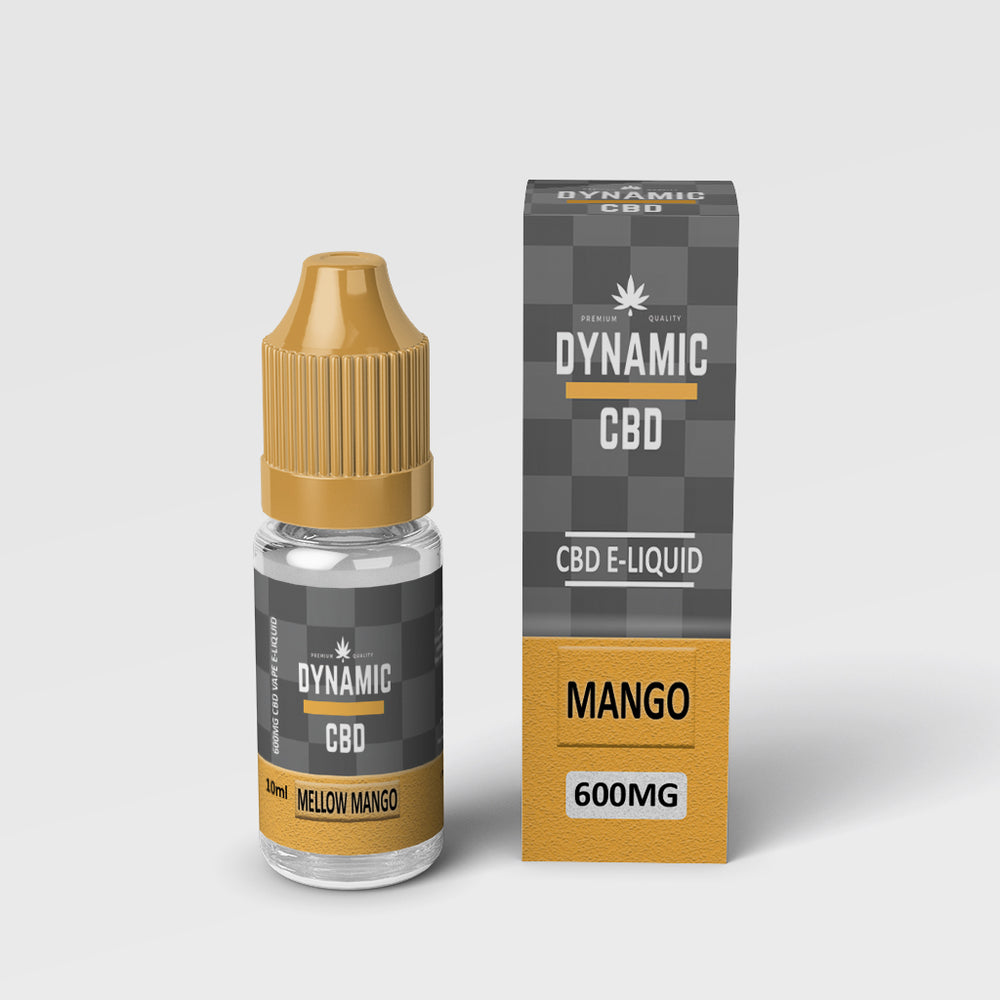 DYNAMIC CBD E-LIQUID - MELLOW MANGO 600mg