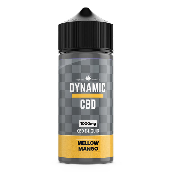 DYNAMIC CBD 100ml E-LIQUID - MELLOW MANGO 1000mg