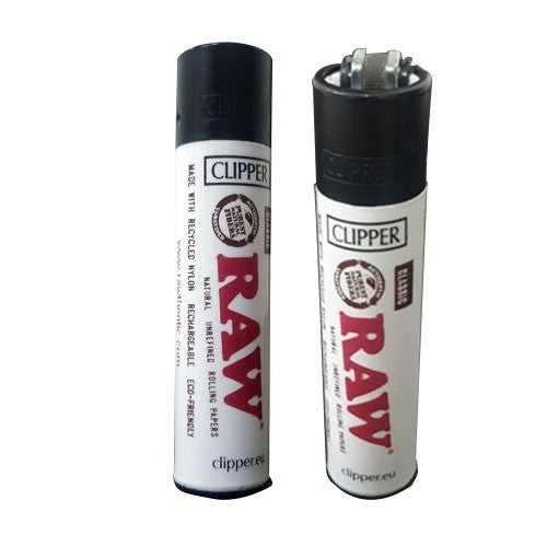 RAW CLIPPER - WHITE - RAWTHENTIC OFFICIAL CLIPPER LIGHTER