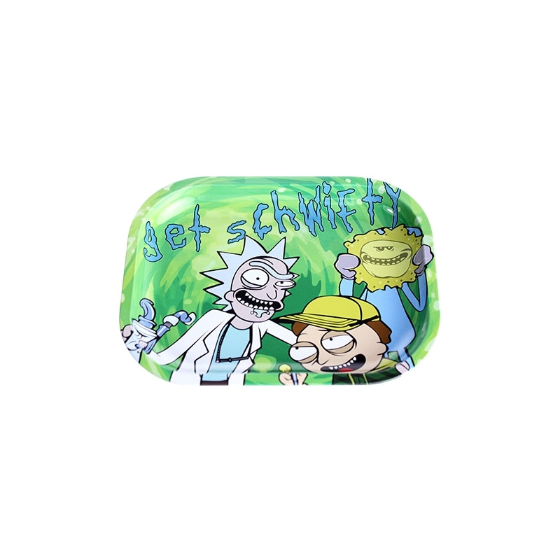 RICK AND MORTY - GET SCHWIFTY ROLLING TRAY