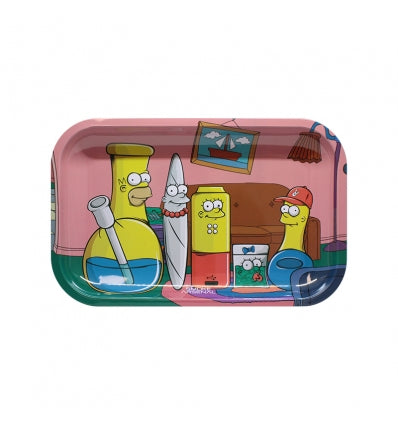 THE SIMPSONS - SIMPBONGS - METAL ROLLING TRAY