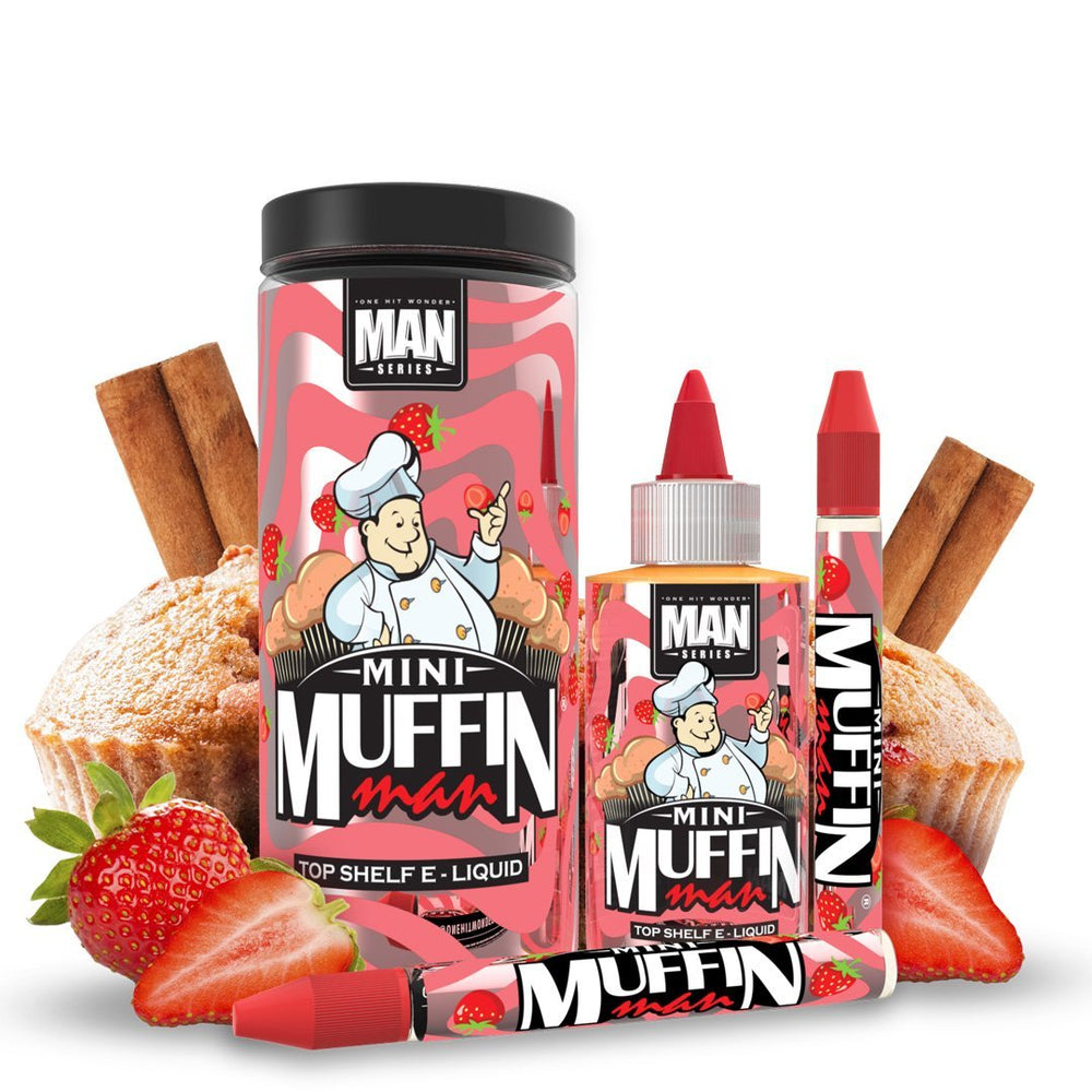 ONE HIT WONDER - MINI MUFFIN MAN SHORTFILL E-LIQUID
