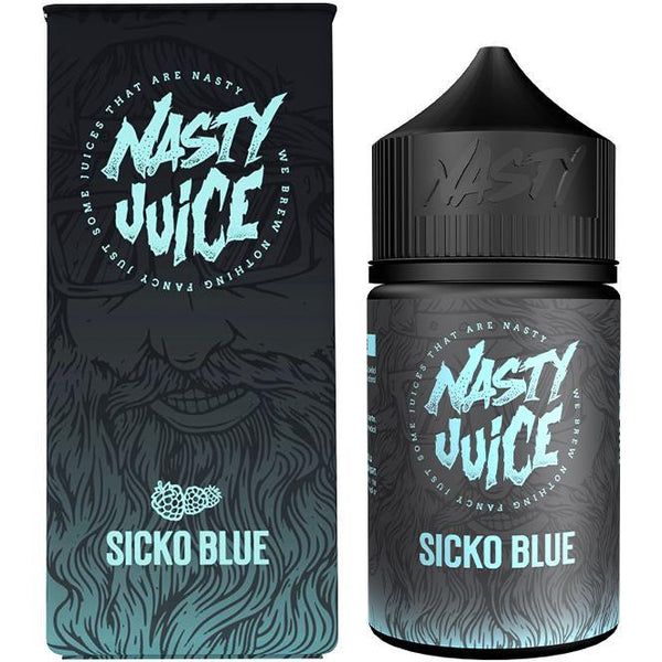 SICKO BLUE - NASTY BERRY - NASTY JUICE 50ml E-LIQUID