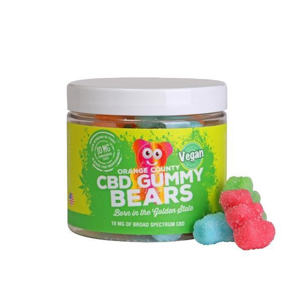 ORANGE COUNTY - (SMALL POTS) CBD GUMMY BEARS