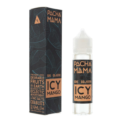 ICY MANGO -  PACHA MAMA BY CHARLIES CHALK DUST 50ml SHORTFILL