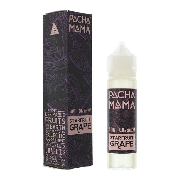 STARFRUIT GRAPE -  PACHA MAMA BY CHARLIES CHALK DUST 50ml SHORTFILL