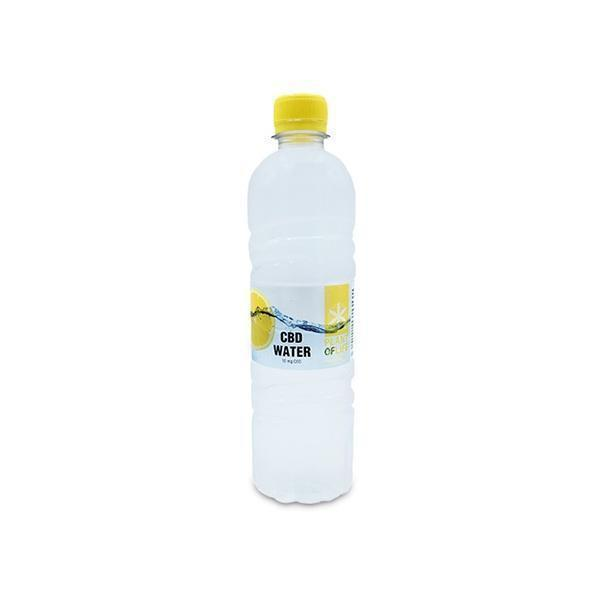 PLANT OF LIFE - CBD INFUSED LEMON FLAVOURED WATER 500ml