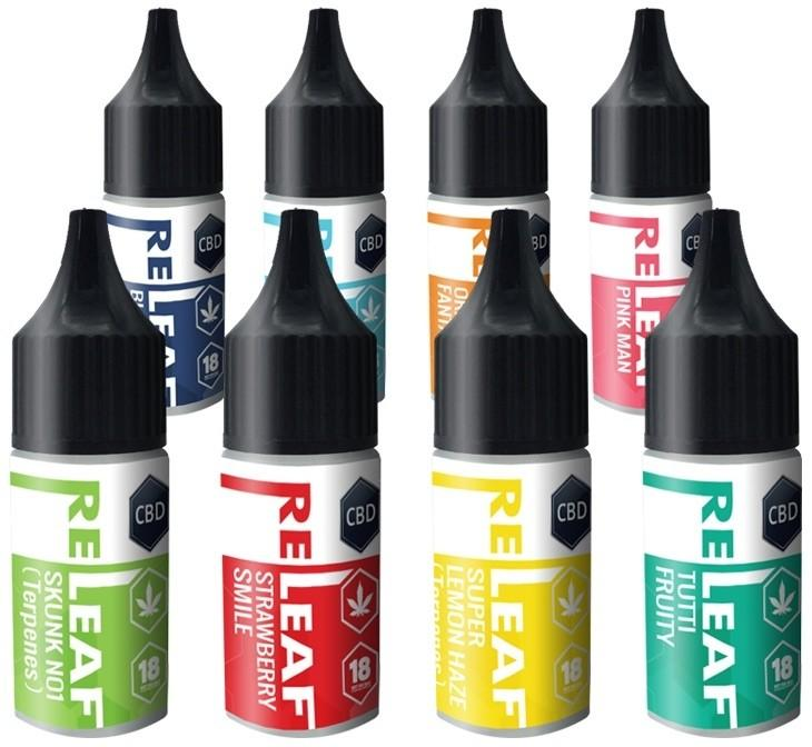 RELEAF 300mg CBD E-LIQUID