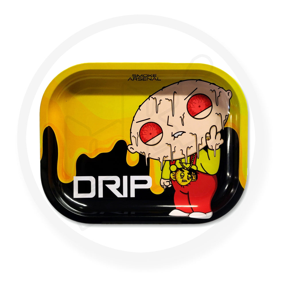 FAMILY GUY - DRIP - STEWIE GRIFFIN METAL ROLLING TRAY
