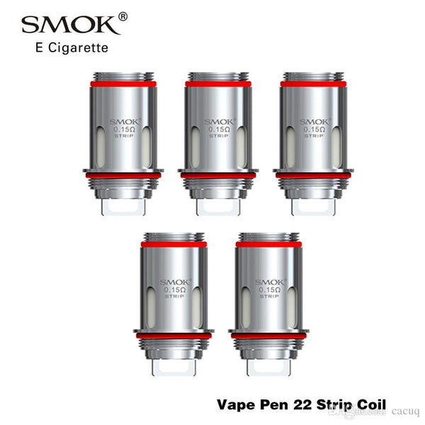 SMOK VAPE PEN 22 COILS - 0.15 Ohm STRIP COILS