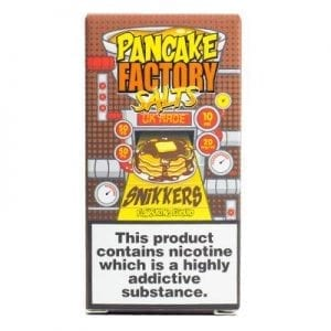 PANCAKE FACTORY - SNIKKERS 20mg NICOTINE SALT 10ml