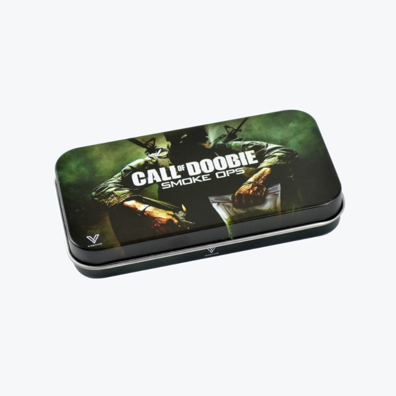 CALL OF DOOBIE TOBACCO TIN SYNDICASE BY V SYNDICATE - CALL OF DUTY