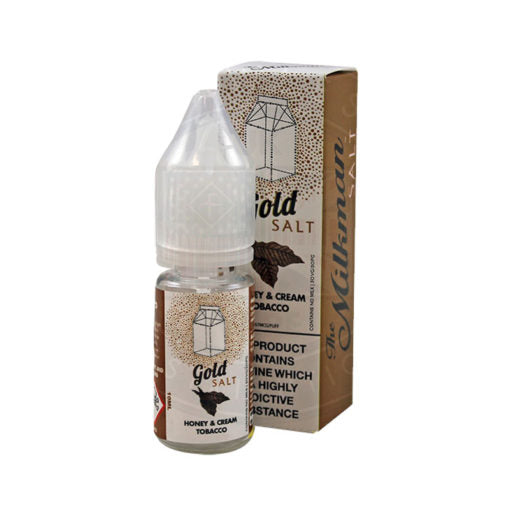 THE MILKMAN SALT - GOLD TOBACCO - HONEY AND CREAM TOBACCO 10ml NIC SALT