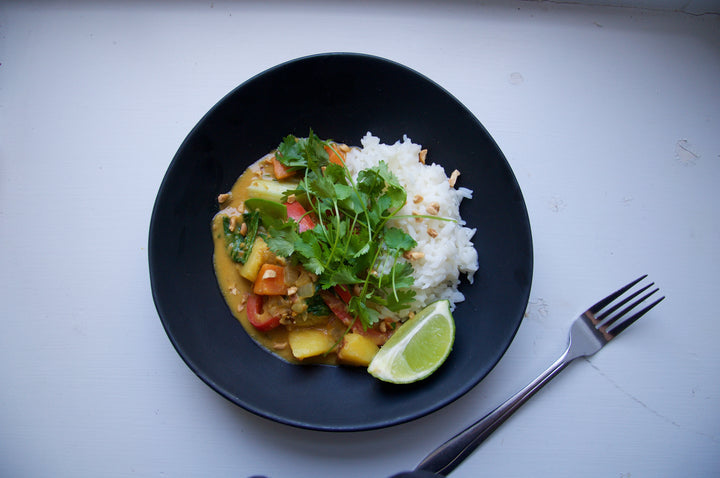 Satay Veggie Curry