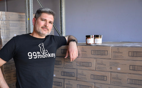 Nick Sheridan, founder of 99th Monkey