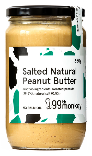 Large Salted Natural Crunchy Peanut Butter