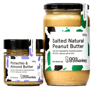 Salted Natural Peanut Butter subscription pack