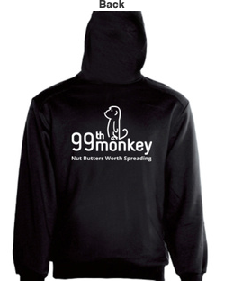 99th Monkey mens hoodie