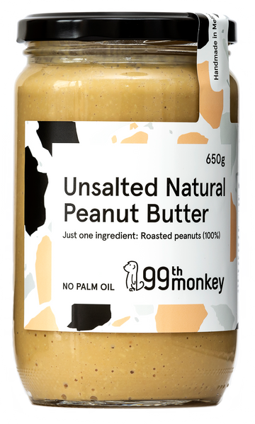 Large Unsalted Natural Crunchy Peanut Butter