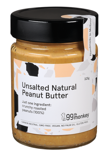 Unsalted Natural Crunchy Peanut Butter