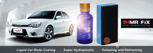 Car Polish Glass Coating