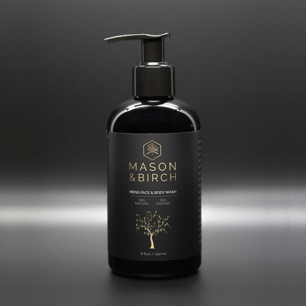 Men's Face and Body Wash