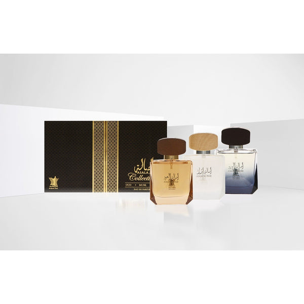 ASALA GIFT COLLECTION SET OF THREE BY ARABIAN OUD