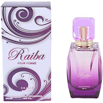 Raiba Pour Femme 100ml EDP by Khalis Floral Fruity Berries Wood White Musk