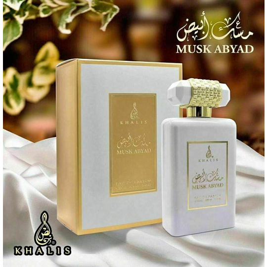 MUSK ABYAD EDP 100ML BY KHALIS PERFUME