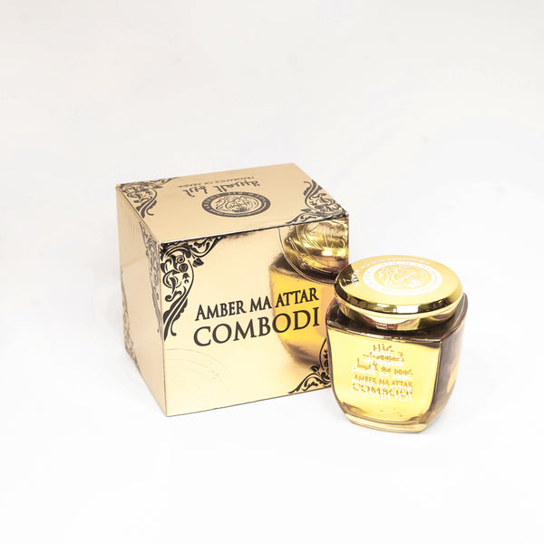 AMBER MA ATTAR CAMBODI 50G BY FRAGRANCE OF ARABIA