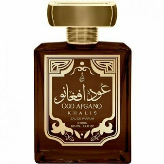 Oud Afgano 100ml EDP by Khalis Floral Jasmine Agarwood Tobacco Sandalwood