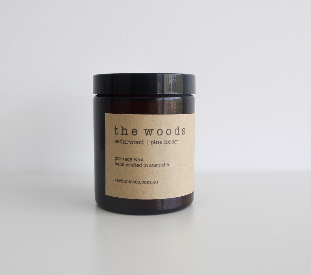 THE WOODS: CEDARWOOD | PINE FOREST SOY CANDLE