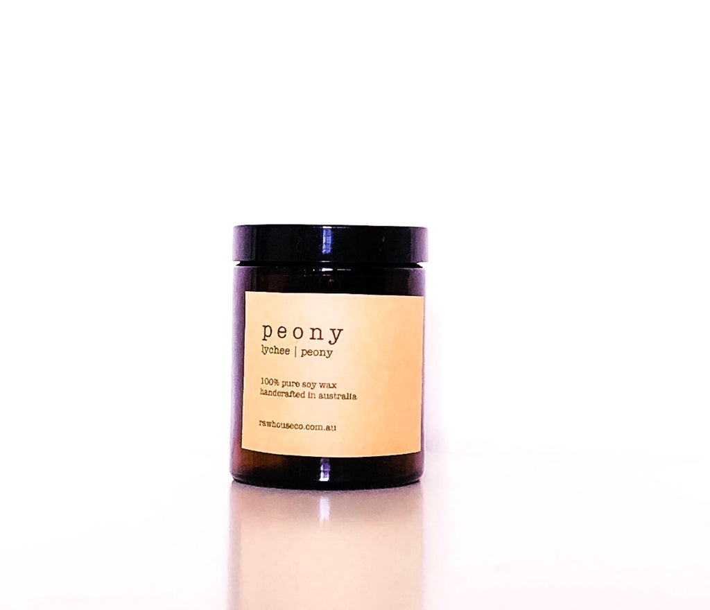 PEONY: LYCHEE | PEONY SOY CANDLE