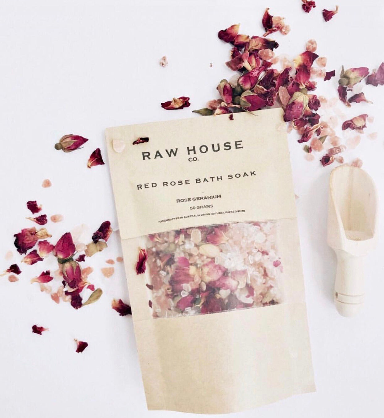 RED ROSE BATH SOAK