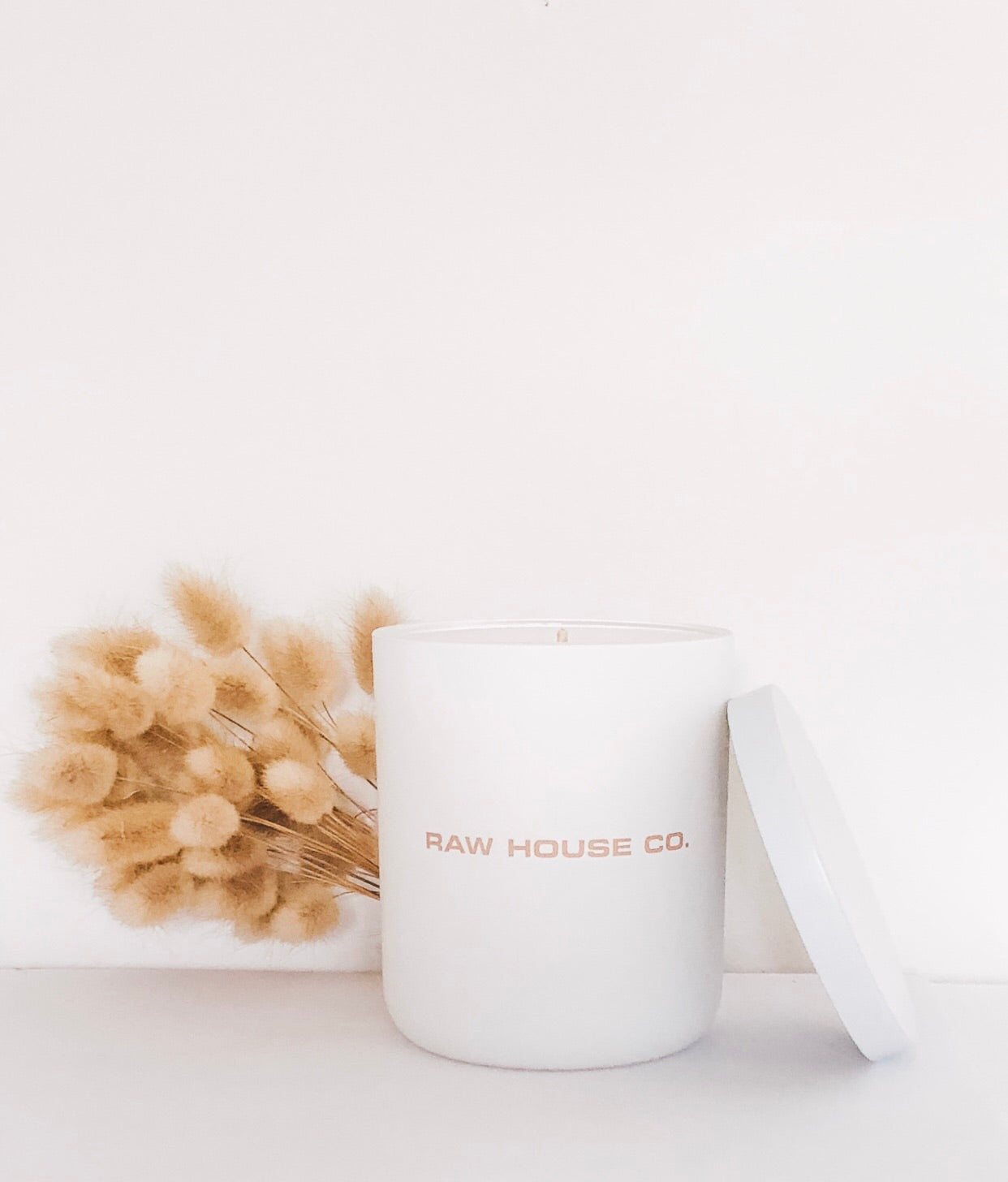 WHITE CANDLE |   PURE SOY CANDLE