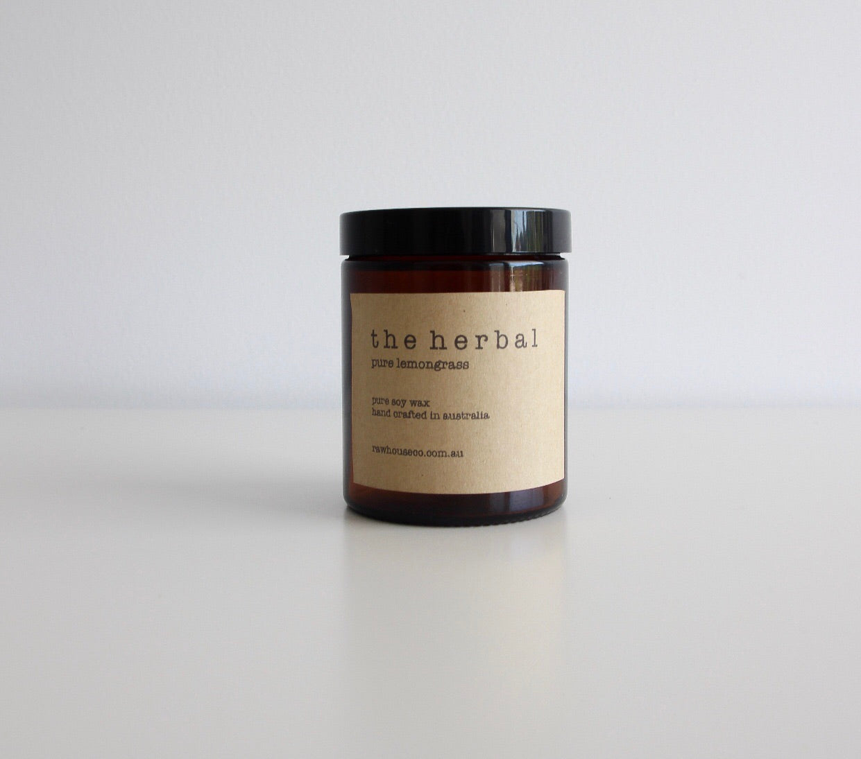 THE HERBAL: LEMONGRASS SOY CANDLE