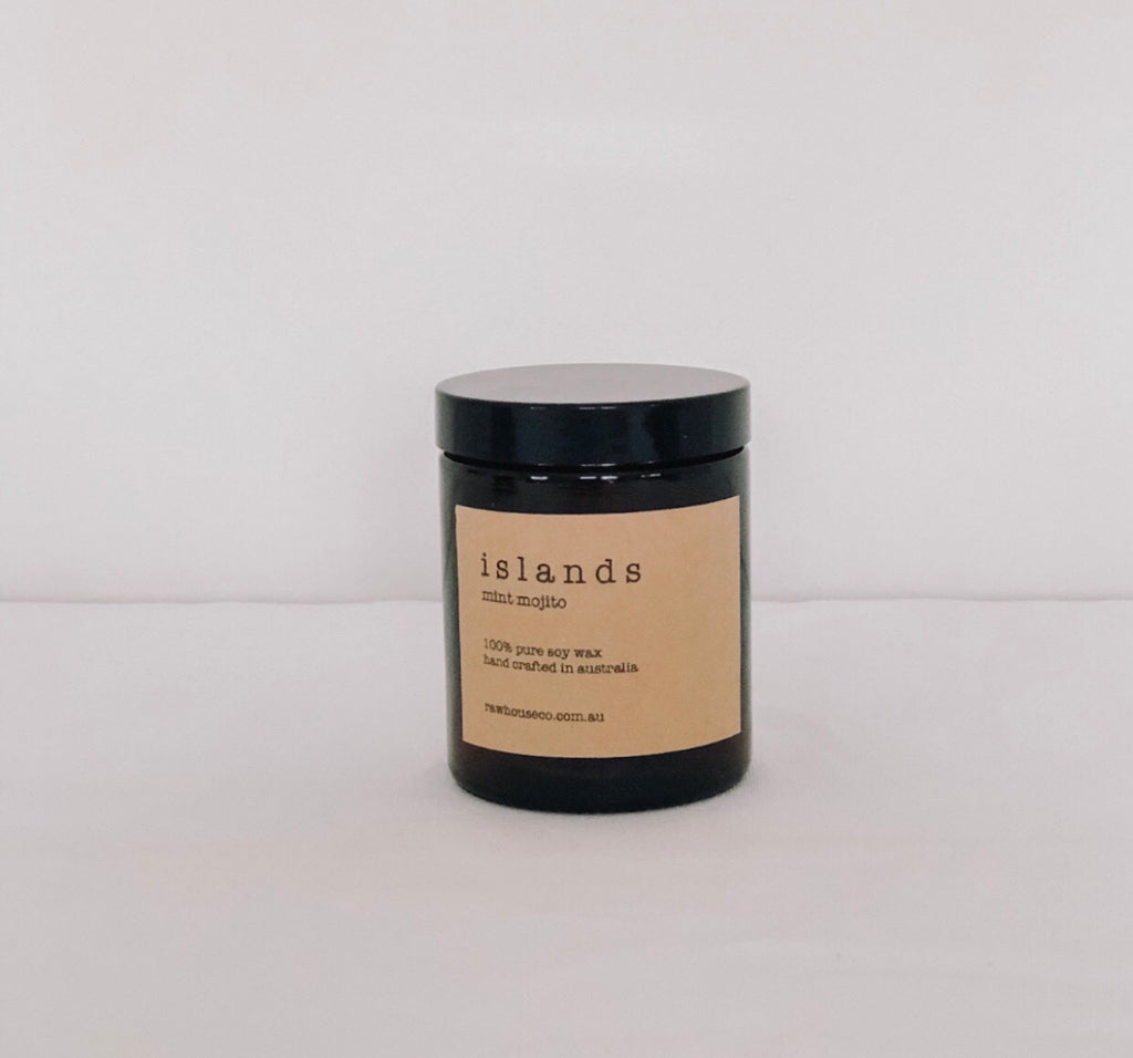 ISLANDS: MINT MOJITO SOY CANDLE