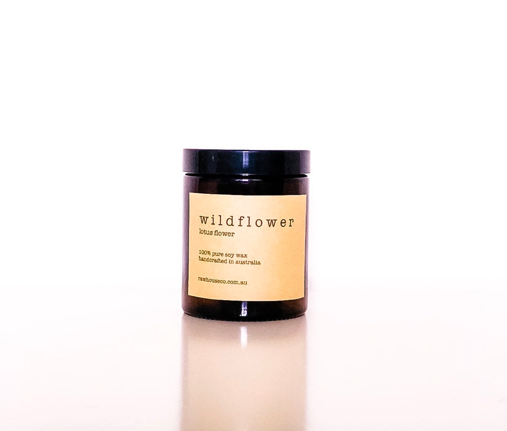 WILDFLOWER: LOTUS FLOWER SOY CANDLE