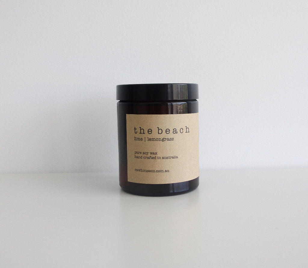 THE BEACH: LIME | LEMONGRASS SOY CANDLE