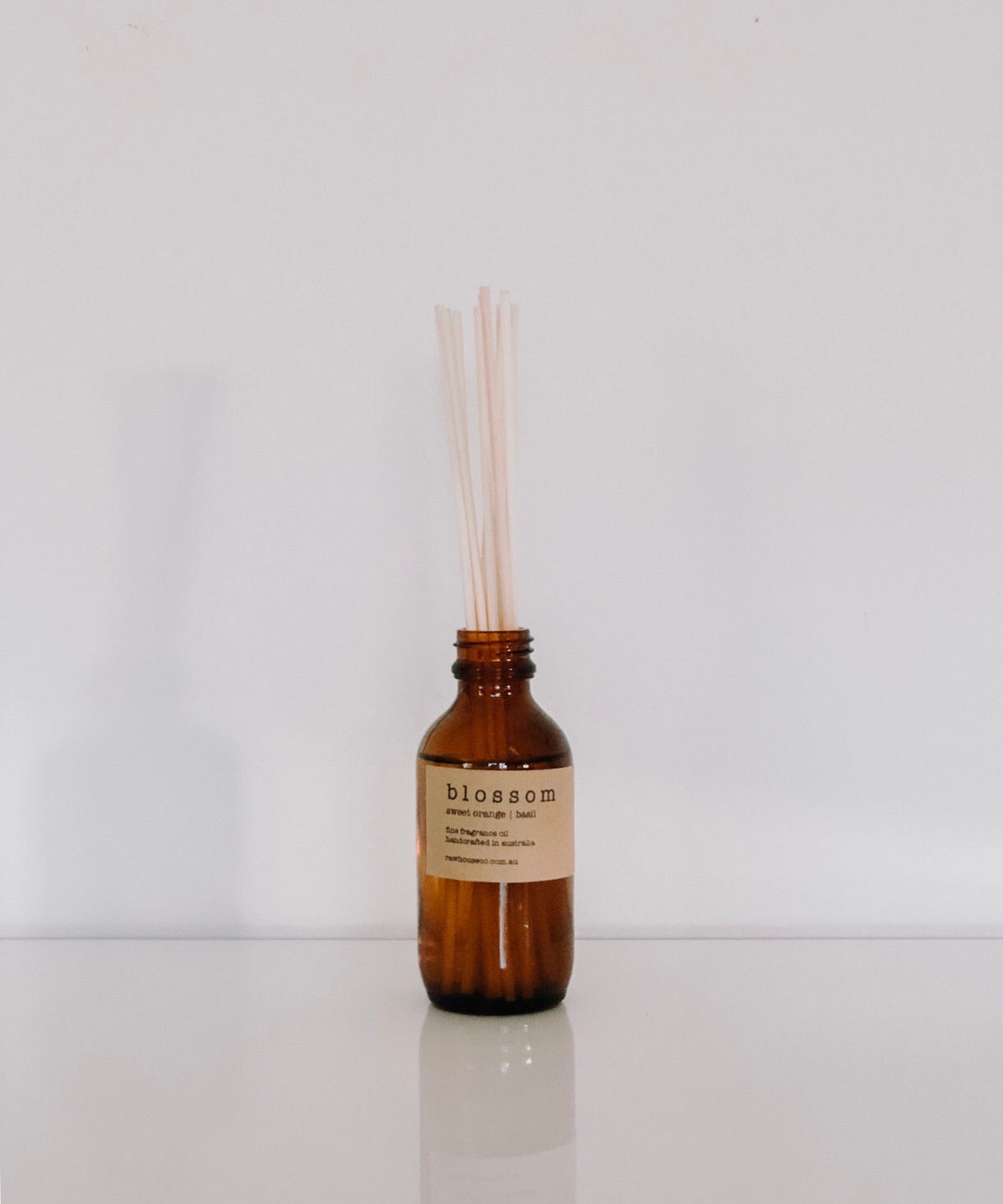 BLOSSOM:  SWEET ORANGE  |  BASIL REED DIFFUSER